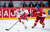 Vadošais Dānijas hokeja izlases uzbrucējs Hansens diskvalificēts uz vienu spēli