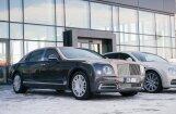 Foto: 'Bentley Rīga' atklājis jauno autosalonu