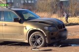 ВИДЕО: В Резекне взорван автомобиль