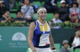Остапенко не без труда вышла в финал турнира в Сеуле