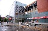 Pērn oktobrī 'Alfā' iebruka 'Re&Re' būvēts jumts; pasūtīts atkārtots autostāvvietas audits
