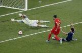 Beļģija atspēlē divu vārtu deficītu un dramatiski izrauj uzvaru pret Japānu