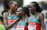 Pirmo reizi PČ vēsturē maratonā medaļas iegūst vienas valsts skrējējas
