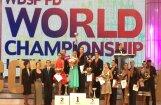 Latvijas deju pāris izcīna sudrabu pasaules čempionātā Latīņamerikas dejās profesionāļu divīzijā