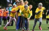 Foto: 123 353 aktīvistu sporto Olimpiskajā dienā