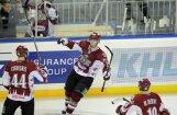 Video: J.Rēdlihs iekļūst KHL Gagarina kausa pirmās kārtas vārtu guvumu TOP 10