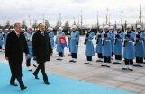 Turcijā izformēs prezidenta gvardi