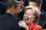 Obama  un Klintone atzīti par apbrīnotākajiem cilvēkiem ASV
