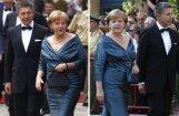 Vācieši šokā – Merkele ieradusies vecā kleitā