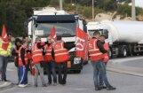 Francijā noris kārtējie protesti pret darba tirgus reformu