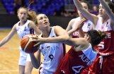 Latvijas U-18 basketbolistes uzvar Turciju un saglabā cerības palikt EČ augstākajā divīzijā