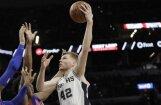 Bertāns gūst 11 punktus un palīdz 'Spurs' uzvarēt; 'Knicks' bez Porziņģa piedzīvo zaudējumu