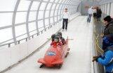 Fotoreportāža: bobsleja, kamaniņu un skeletona sezonas noslēgums Siguldā