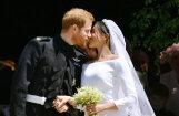 Foto: Britu prinča Harija un Meganas Mārklas krāšņās kāzas