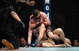 Nurmagomedovs UFC cīņā pieveic Makgregoru un sarīko milzu nekārtības