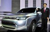 Гибридный кроссовер Mitsubishi пойдет в серию