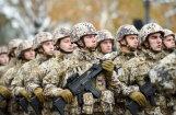ФОТО: Парад Национальных вооруженных сил Латвии в честь 11 ноября