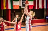 Latvijas U-18 basketbolistes EČ apakšgrupu turnīra noslēgumā uzvar Ungāriju