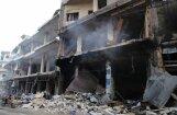 Aktīvisti: Krievijas uzlidojumos Sīrijā nogalināti 36 civilisti