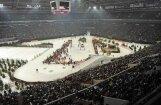 Российские биатлонисты выиграли Рождественскую гонку на футбольном стадионе