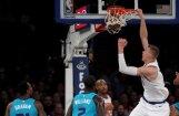 Video: Porziņģis satricina grozu un iekļūst NBA dienas TOP 10