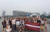 Koris 'Balsis' 30. jubilejas sezonu iesāks ar tradicionālo Daugavas braucienu