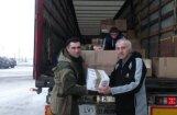Под Луганск доставили гуманитарную помощь, собранную в Латвии и Эстонии