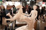 Foto: Durvis vēris mākslas un dizaina tirgus 'Jarmarka'