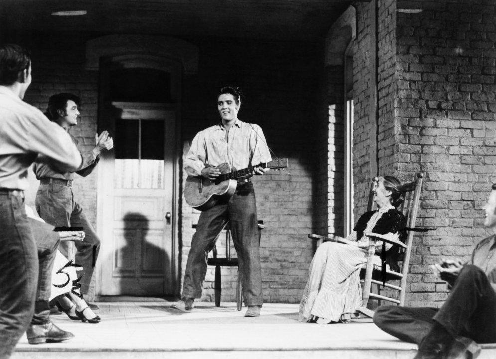 Arhīva foto: Elvisa Preslija pirmā kinoloma