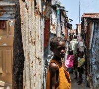 Bīstamais Haiti graustu rajons