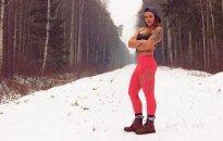 Muskuļi kā sabiedrotie. Kā Elīna no Baltinavas pārvērta savu ķermeni un dzīvi