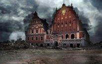 Kā Rīga, Maskava vai Parīze izskatītos pēc kara