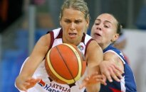 Anete Jēkabsone-Žogota atzīta par 2007.gada Eiropas labāko basketbolisti
