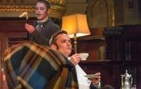 Foto: Nacionālajā teātrī tapis mūzikls par Šerloku Holmsu 'Bāskervilu leģenda'