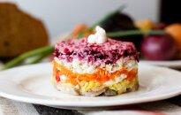 18. novembra svētku galda rota – salāti latviskās garšās un krāsās