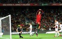 ВИДЕО: Надежда сборной Латвии против Роналду&Co длилась пару минут