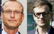 Ideju teniss: Dalībnieki - arhitektūras kurators Mārtiņš Ķibilds un arhitekts Toms Kokins