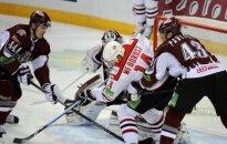 Šekura papildlaika pēdējās sekundēs izrauj Rīgas 'Dinamo' uzvaru spēlē Doņeckā