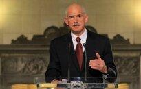 Papandreu atkāpjas no Grieķijas sociālistu partijas vadītāja amata