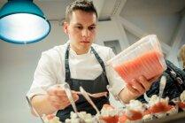 Foto: Gastronomijas mākslas ģēnija Hestona Blūmentāla komandas meistarklase Rīgā