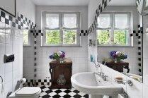 Kičīgas idejas spilgtiem sienu noformējumiem vannasistabā