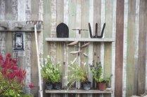 Viss vienviet: idejas, kā uzglabāt dārza instrumentus
