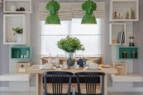 Omulība virtuvē: lieli, mazi, apaļi un kantaini ēdamgaldi