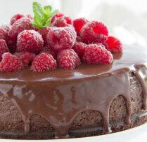 Aveņu - šokolādes kūka bez cepšanas