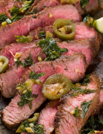 Steiks tekilas marinādē
