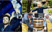 Nedēļas trakumi: Nīderlandes triumfs 'Eirovīzijā', alusmīļi Vērmaņdārzā, karaliskie ķipari