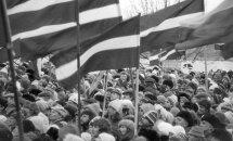 #Ziņas1991: Prezidents Bušs nosoda padomju vardarbību Baltijā