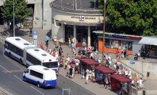 ДТП у Центрального рынка: автобус Rigas satiksme насмерть сбил пешехода