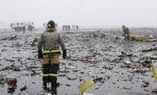 Traģēdija Rostovā: Publicēts jauns video ar 'Boeing 737-800' kritienu
