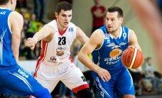'Jūrmala/Fēnikss' basketbolisti pārliecinoši uzvar 'Jēkabpili'; nodrošina dalību LBL izslēgšanas mačos